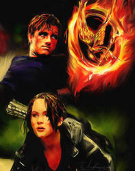 Hunger Games by kyo31