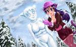 Commission - Snowcatgirls