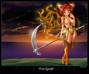 Fire Spirit by HitmanN