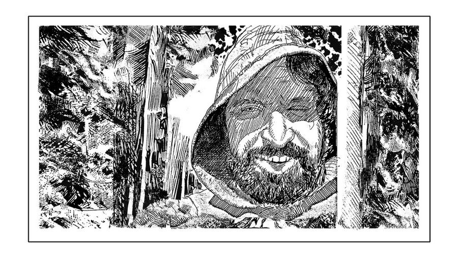 LITTLE JOHN IN SHERWOOD FOREST ( from ROBIN HOOD) by NCMALLORY