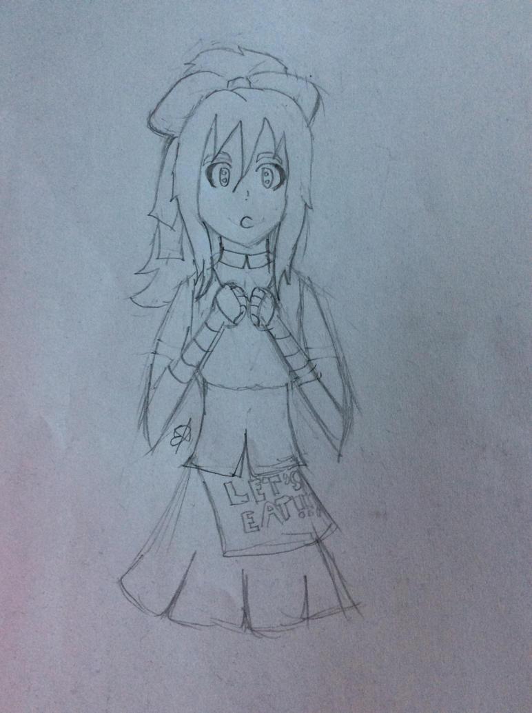 Chica sketch by SpringElizabeth