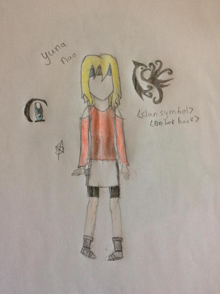 Nao Yuna (Colored sketch) Naruto OC by SpringElizabeth