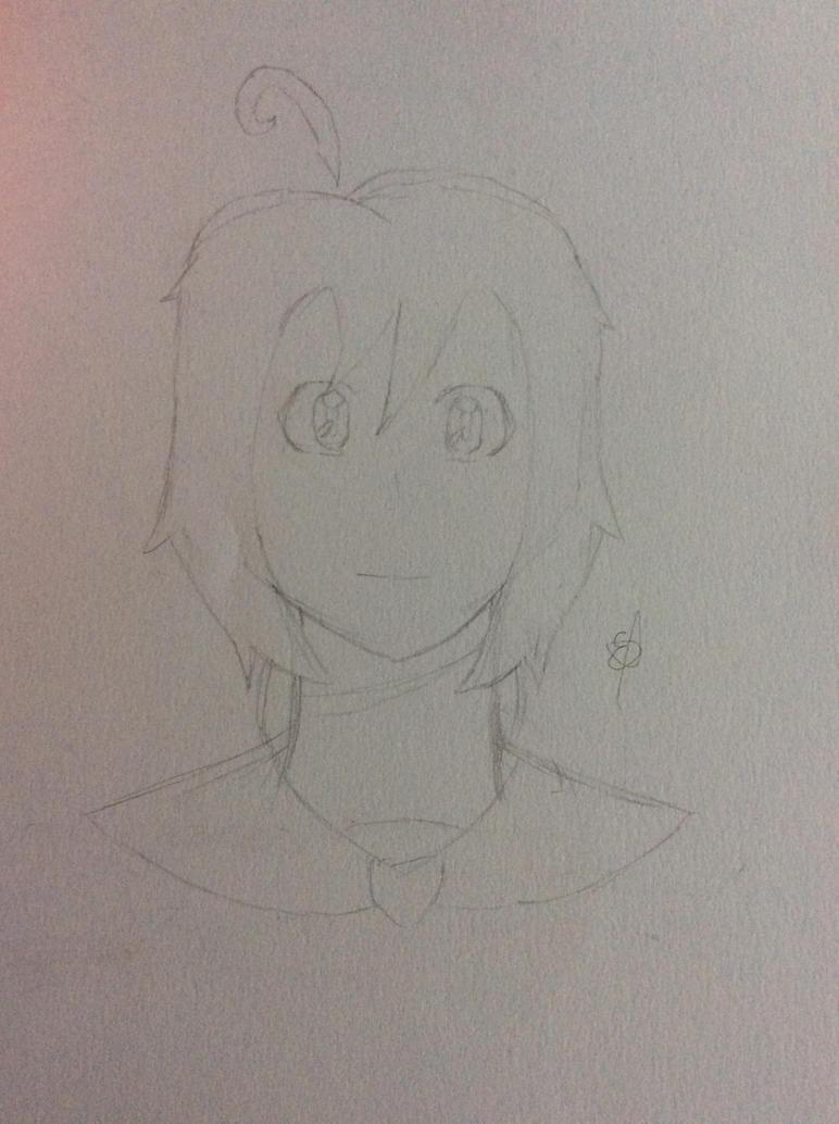 Tsuki Mayonaka |rough sketch| by SpringElizabeth