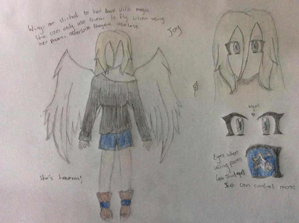 Joy persona reference by SpringElizabeth