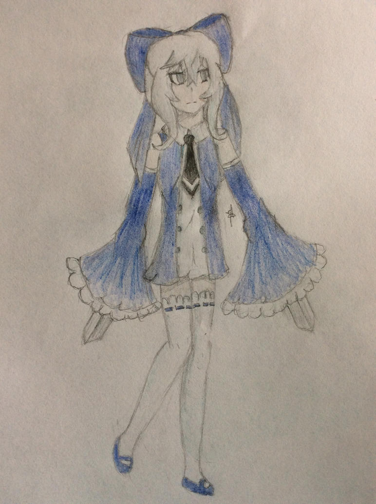 Echo Ryoko Art Trade by SpringElizabeth