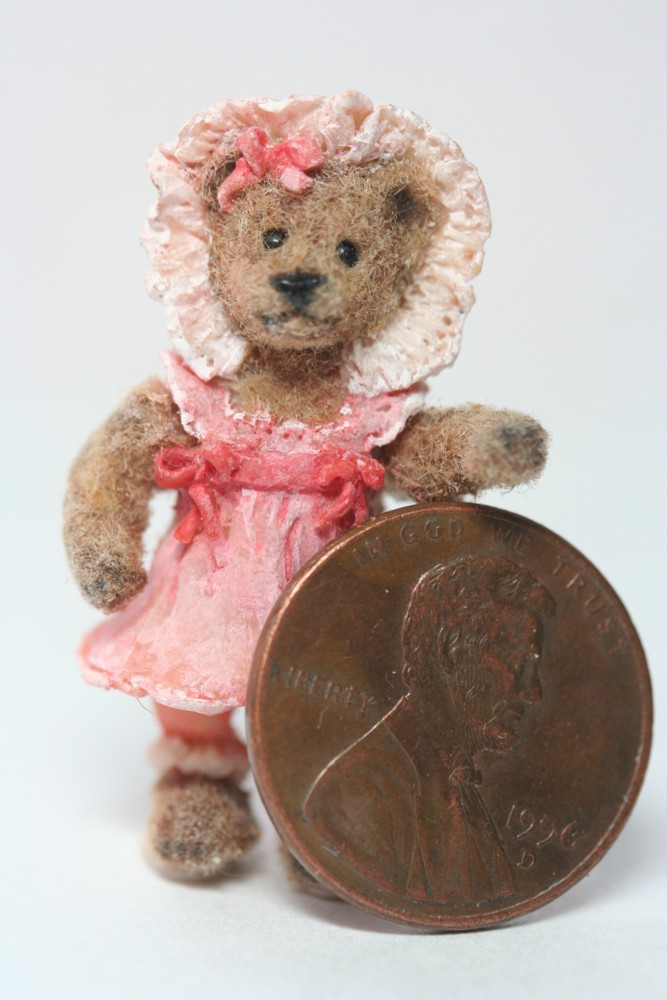 Bella Miniature Teddy Bear by kimbearlys