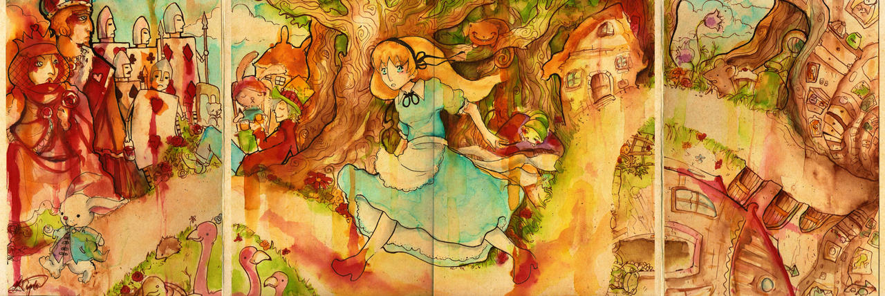 Alice in wonderland by faQy