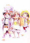 Sabo,Ace,Luffy