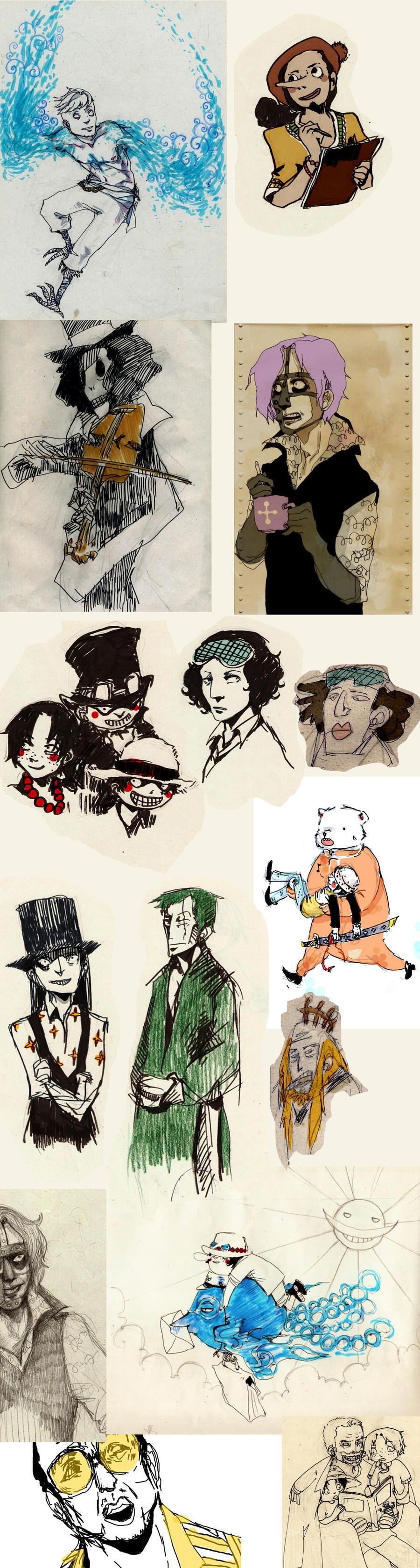 OP doodles by faQy