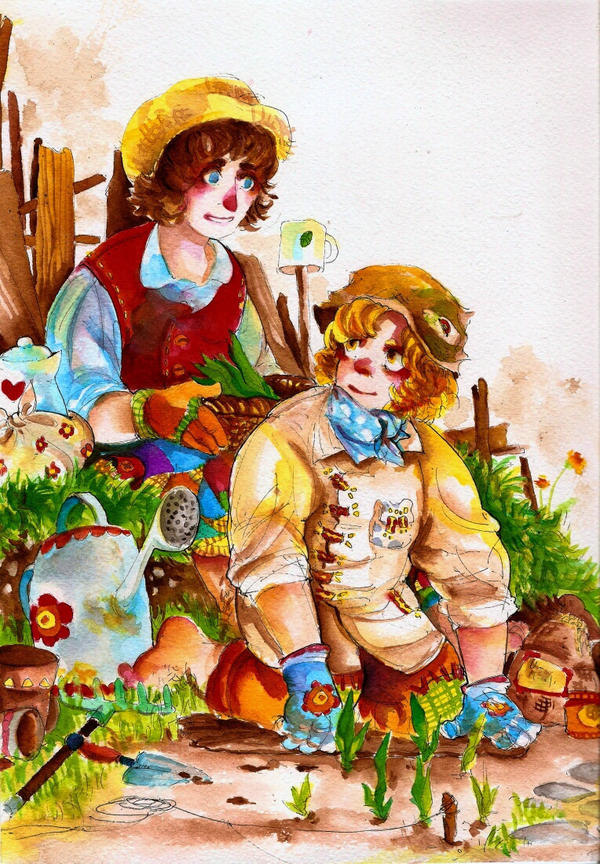 gardening by faQy