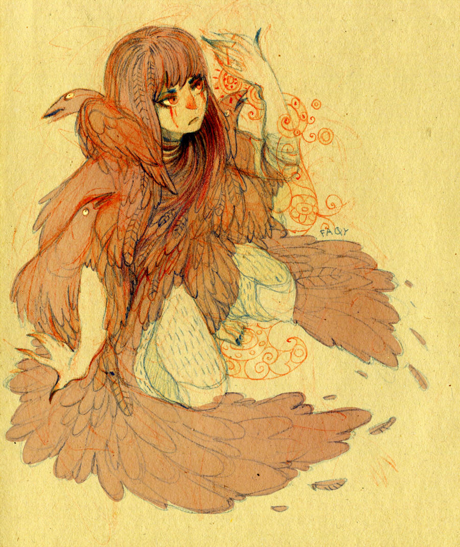crow by faQy