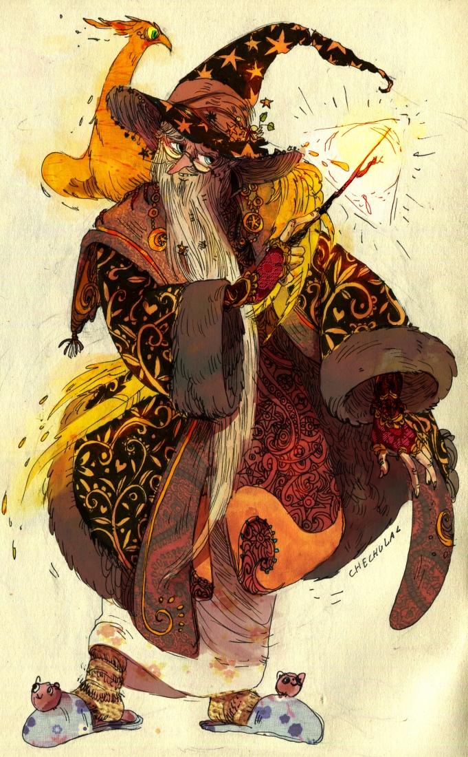 Professor Albus Percival Wulfric Brian Dumbledore by faQy