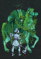 Sir Gawain and The Green Knight by faQy
