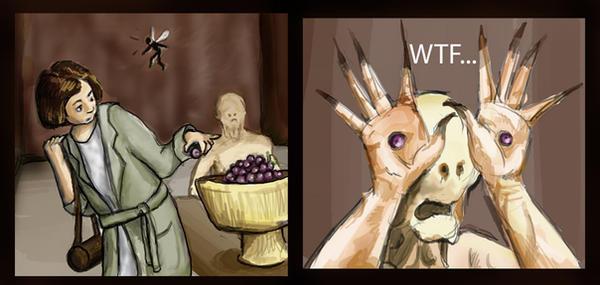 Grapes? by CaffeinatedRice