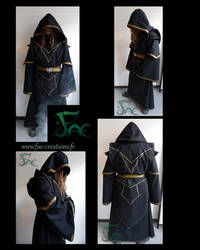 Necromancer robe by Herilome