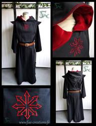 Chaos black robe by Herilome