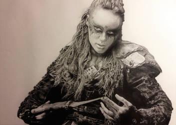 Commander Lexa by newtsheadwound