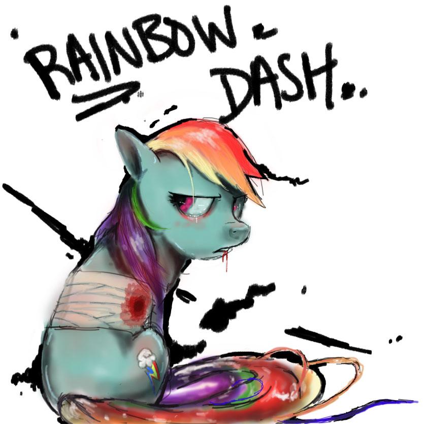 Rainbow Dash WIP by jcharlesmachiavelli