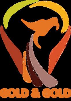Gold and Gold Logo (Draft 1) Light Bulb Dragon