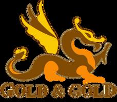 Gold and Gold Logo (Draft 7) Circle Dragon