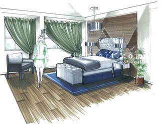 Bedroom Design by aeriim