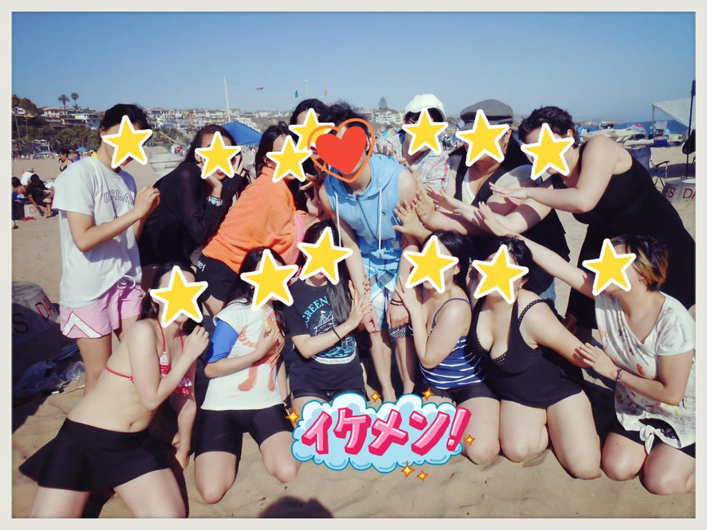 Kirobabu's Harem Beach Episode by aeriim