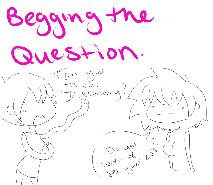 Have Caution While Begging The Question A And S By Ootsutsuki On