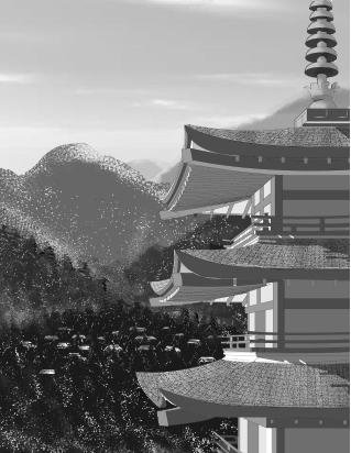 Pagoda by Littlelostpig