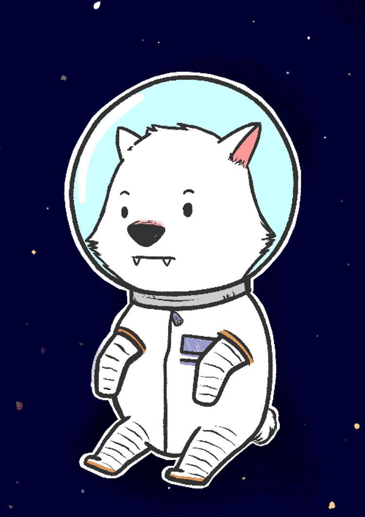 chibi astronaut - photo #11
