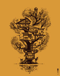Treehouse Daily Pixels X5