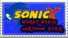 Sonic X Fails Stamp by Scattered-Stamps