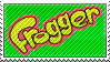 Frogger Stamp by Scattered-Stamps