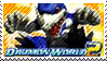 Digimon World 2 stamp by Scattered-Stamps