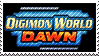 Digimon World Dawn stamp by Scattered-Stamps