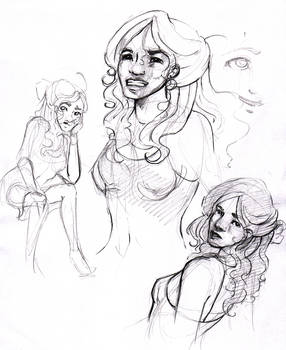Veronica Expressions Study
