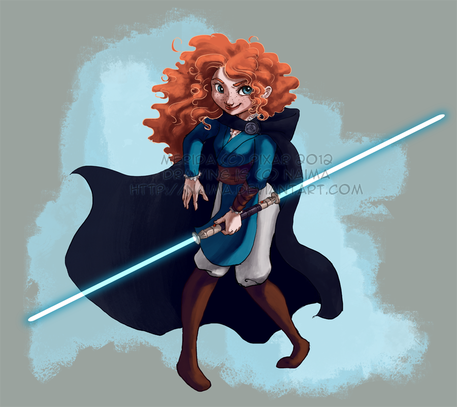 Disney/Pixar Wars - Merida by naima