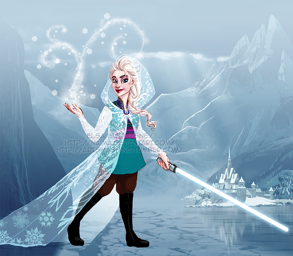 Disney Wars - Elsa by naima