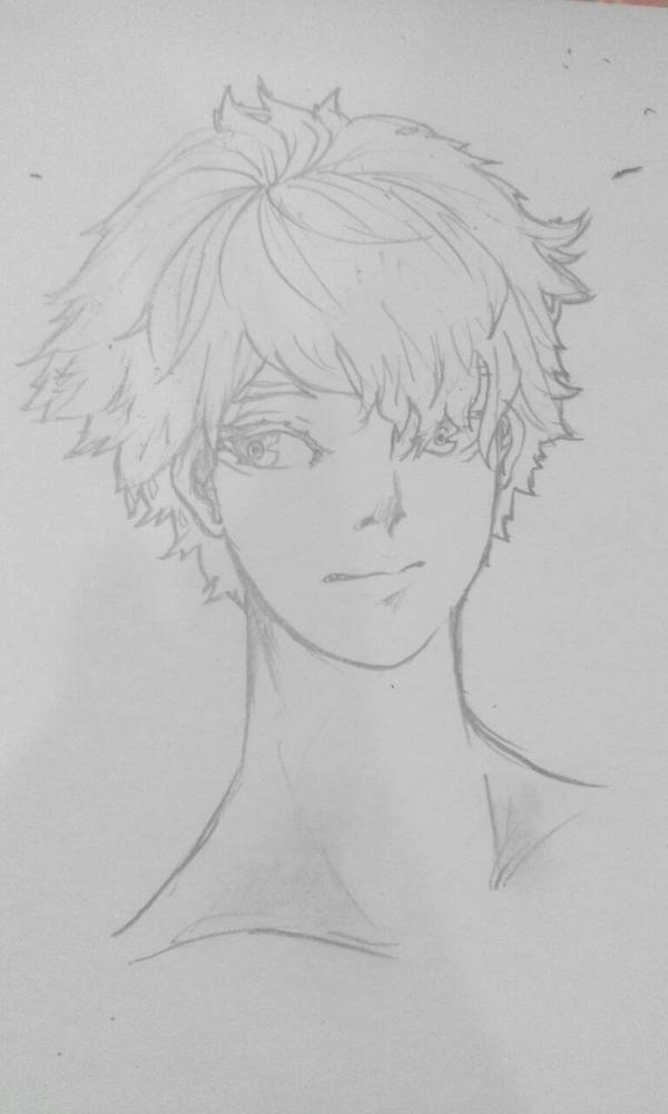 Random Sketch Guy by jiexue