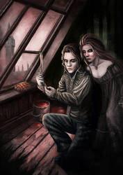 Sweeney Todd - Theatre Poster - Commission by iQ-Hunter