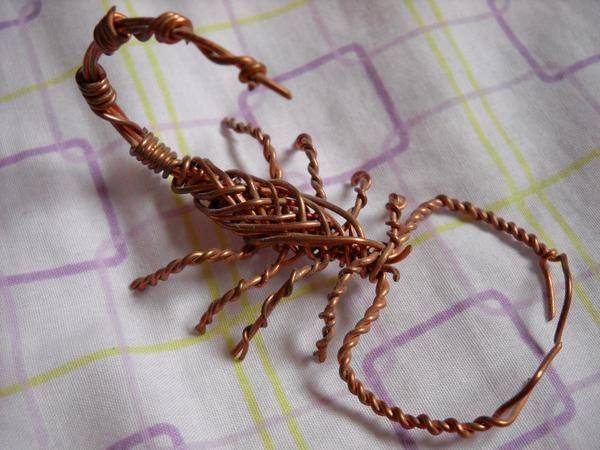 Copper Wire Scorpion by Shamaru on DeviantArt