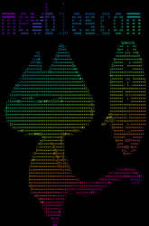 Colorized ASCII on a Linux terminal using lolcat