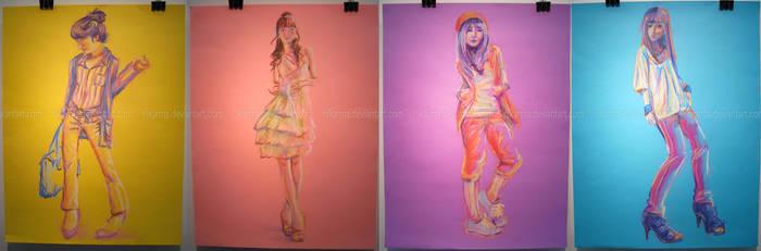 Colour Fashion Set