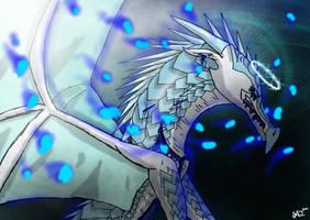 Blue Embers [SPEEDPAINT] by SonicswirlAJ