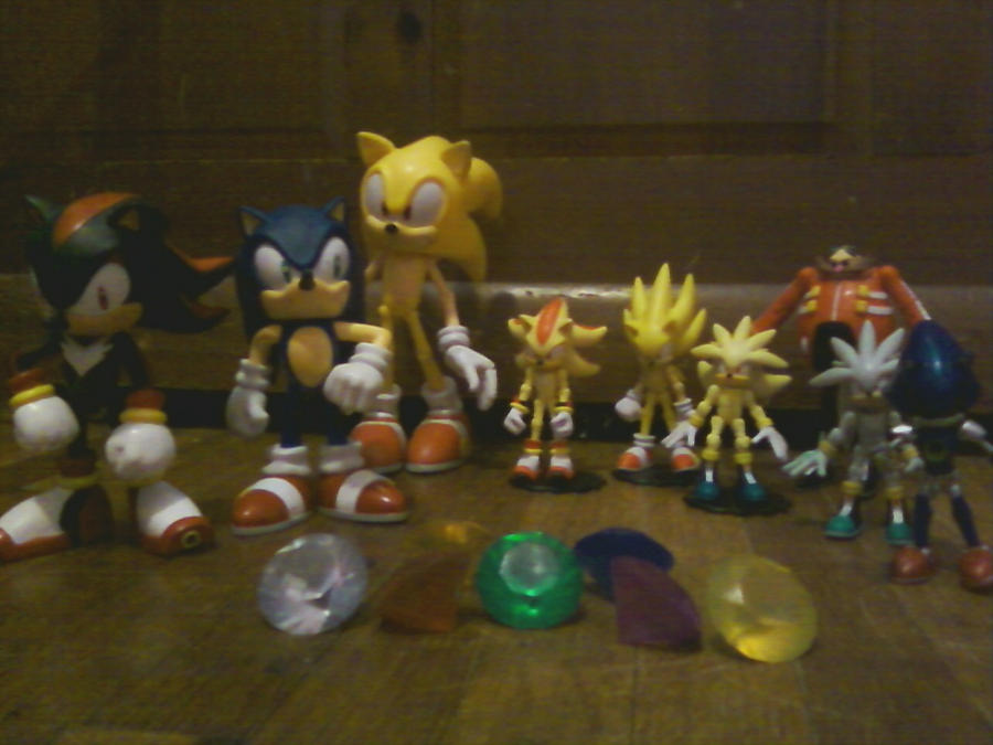 Some of my Sonic figures