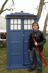 Allons-y! Into the TARDIS!