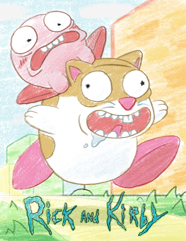 Rick and Kirby by spacepig22 o...