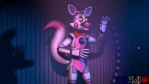 Stylized Funtime Foxy