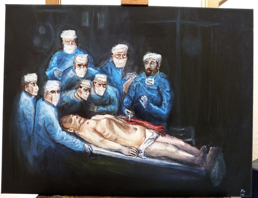 The Anatomy Lesson of Dr. Nicolaes Tulp 2013 by Nordgrot on DeviantArt