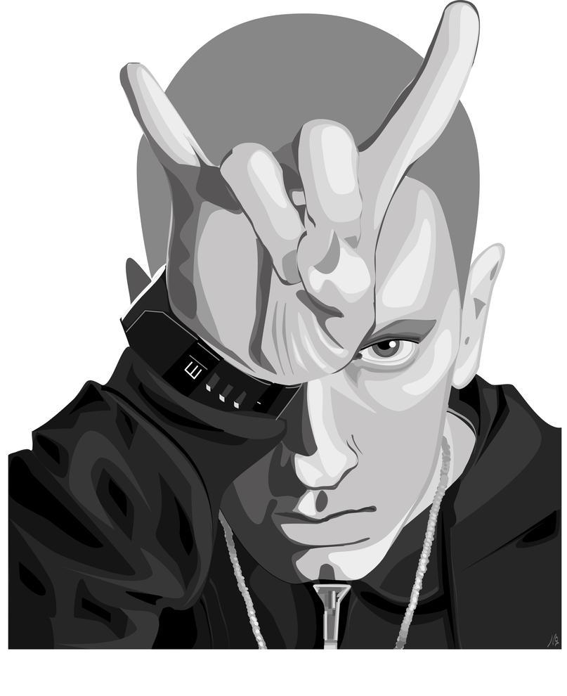 eminem poster 2013 eminem concert poster vintage eminem poster    Vintage Eminem Poster