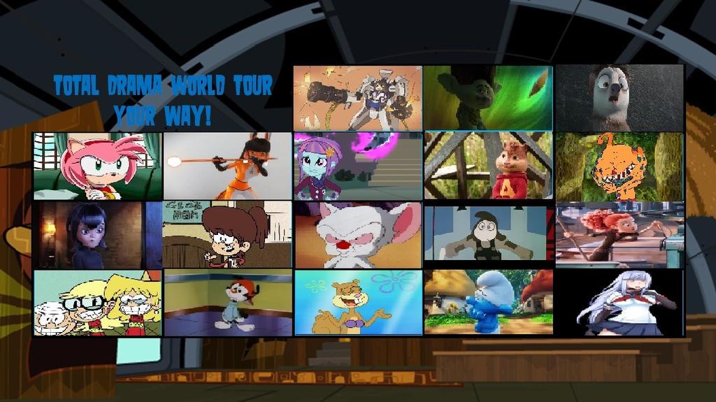 Total Drama World Tour Simulator